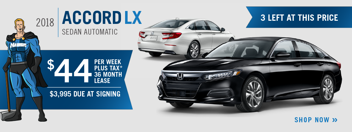 *Closed End Lease Financing Available Through 10/31/2018 For A New, Unused  New 2018 Accord LX Automatic On Approved Credit To Highly Qualified  Customers By ...