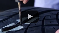 Fix a Small Hole In a Tire