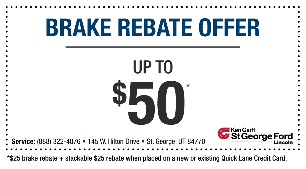 Parts Coupon | Ken Garff St. George Ford