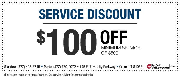 Vw service coupons miami