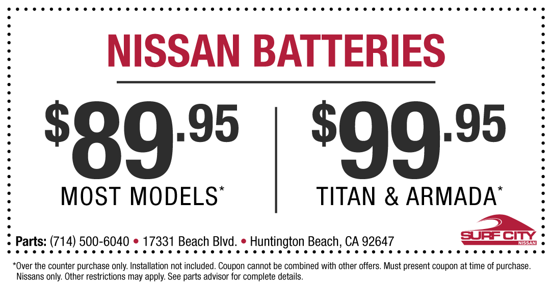 Parts Special | Surf City Nissan