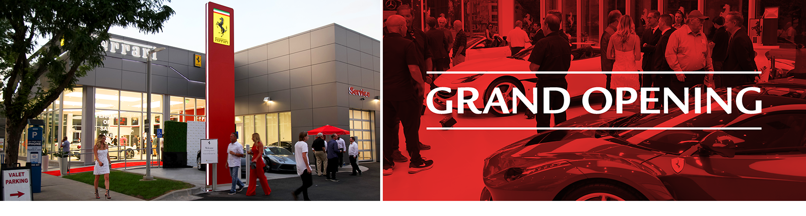 Ferrari of Salt Lake City Grand Opening