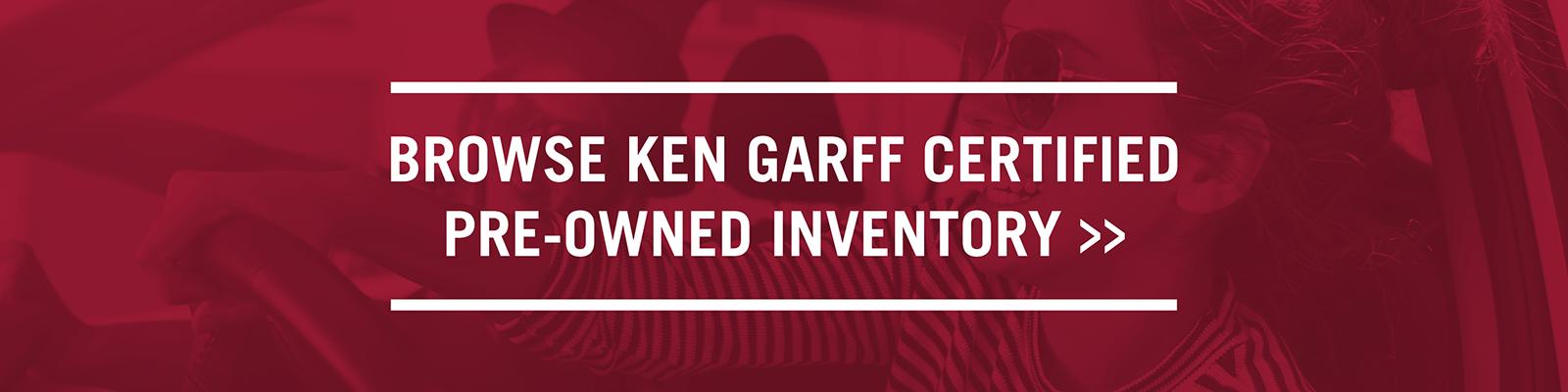 Garff Certified Pre-Owned
