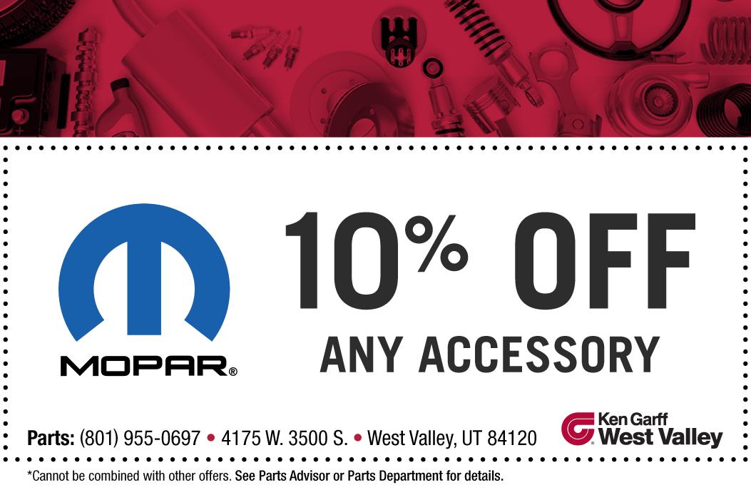 Mopar parts discount coupons